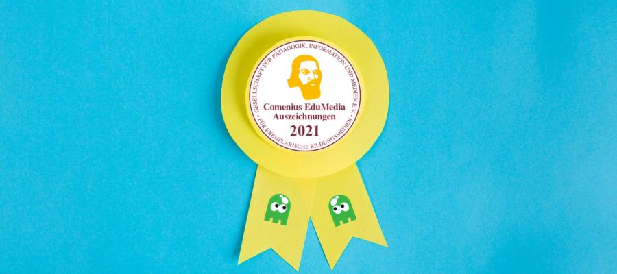 Ghostthinker gewinnen Comenius-EduMedia-Award 2021
