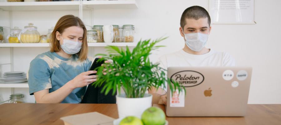Digital lernen während der Corona-Pandemie