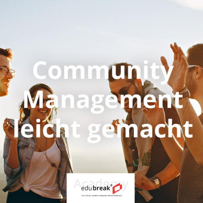 Community Management Online-Kurs in der edubreak Academy