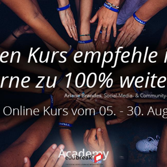 Community Management Online Kurs